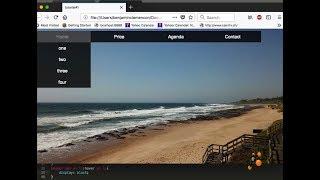 HTML/CSS pour débutant - Comment faire un menu déroulant - Tuto#1