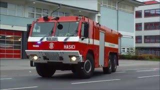 Výjezd vozidel HZS a ZZS Pardubického kraje - Centrální požární stanice Pardubice thumbnail