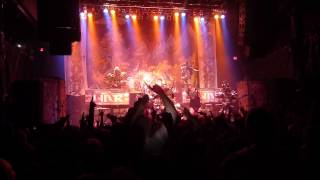 gwar - into / horror of yig *live* (december 21, 2012 @ the norva)