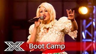 Can Sara Vidoo impress again?   Boot Camp   The X Factor UK 2016