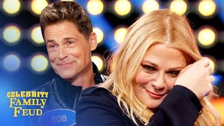 Rob Lowe gives his wife the birthday surprise of a lifetime!   Celebrity Family Feud