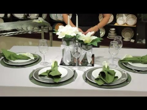 How To Decorate Tables With Calla Lilies Table Designs Youtube