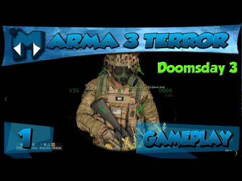 Arma 3 Coop - Missão de Terror Macabro - DOOMSDAY NIGHT 3 - PARTE 1