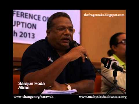 Video Recording of Civil Society Press Conference on SARAWAK LAND CORRUPTION  20032013