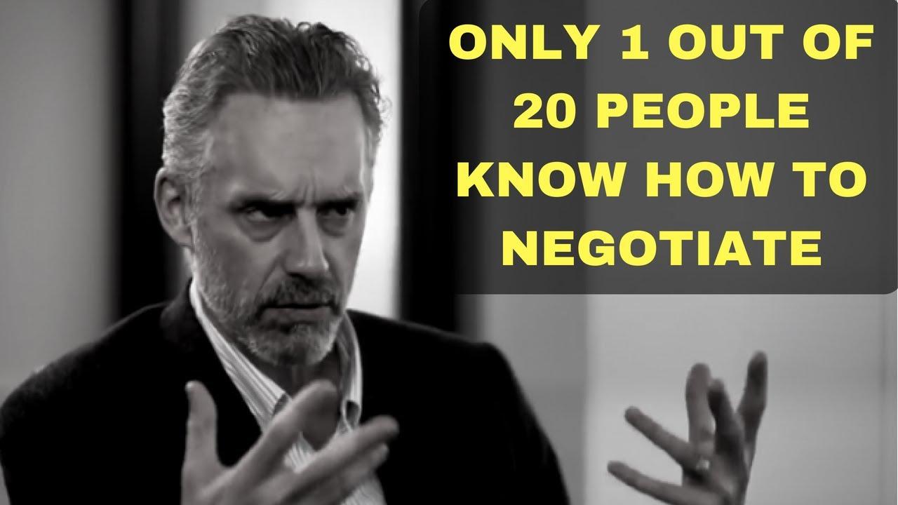 pierwsza stawka najlepiej tanio tanie z rabatem Jordan Peterson - The importance of negotiation in relationships