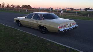 1975 Buick LeSabre, Flowmaster super 44