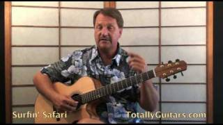 Beach Boys - Surfin Safari Guitar Lesson Preview