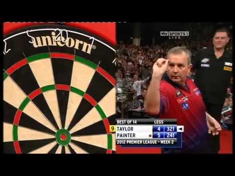 9 Dart Finish - Phil Taylor against Kevin Painter - Premier League - 16 February 2012
