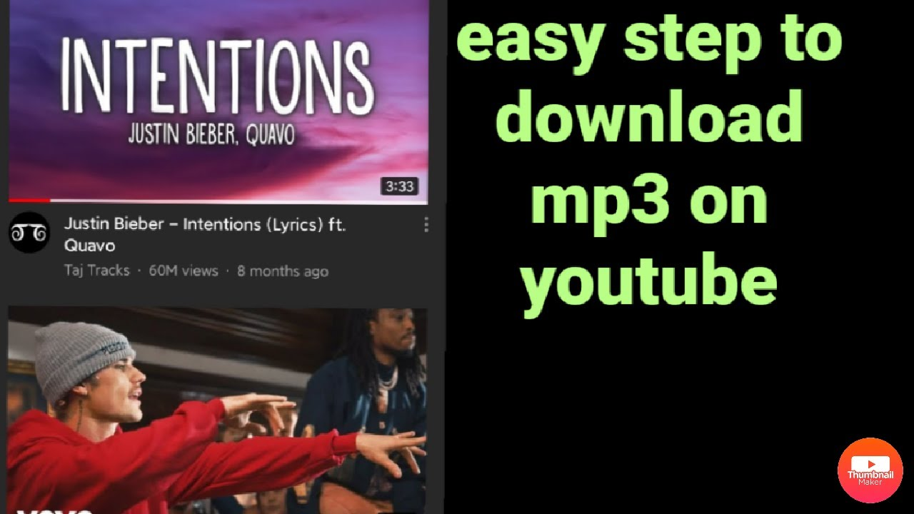 Easy Step To Download Mp3 Music On Youtube No Converter Using Android Phone Youtube