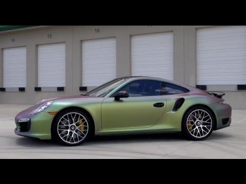2014 Porsche 911 Turbo S - Amazing Plasti Dip