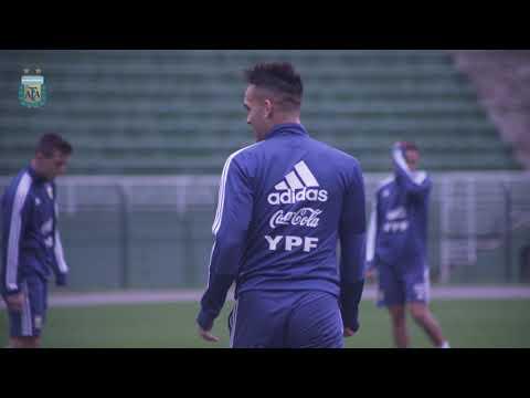 #SelecciónMayor ¡Último entrenamiento en Brasil! #VamosArgentina