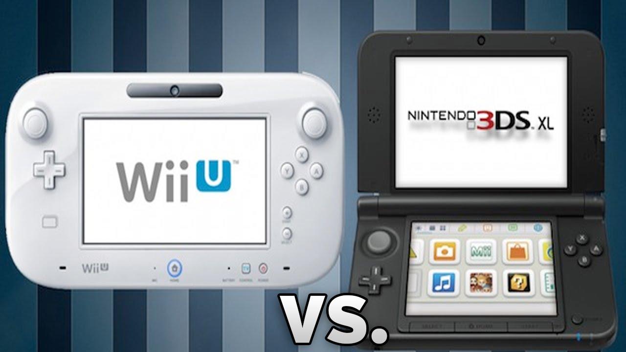 Resultado de imagen de Wii U and 3DS