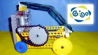 GIGO ★ How to Make an Electric Toy Car ★DIY Science Project