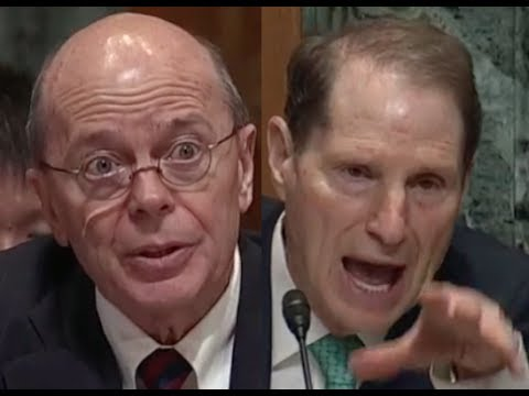 Ron Wyden GRILLS Trump Treasury Nominee David Kautter in Senate Confirmation Hearing