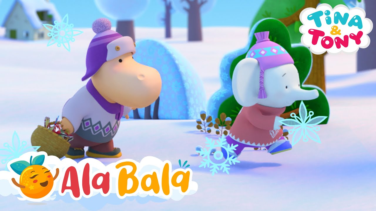 Tina si Tony ? Poveste de Crăciun - Desene animate pentru copii de grădiniță