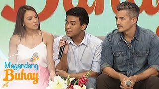 magandang buhay aubrey and troy as parents to maurie