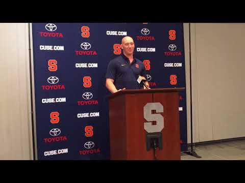 Syracuse football QB Rex Culpepper: beating cancer 'felt like beating Clemson' (video)