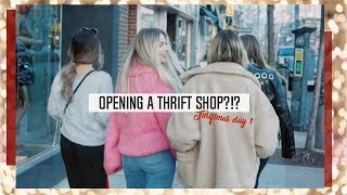 Opening a Thrift Store?! | Thriftmas Day 1 ☆