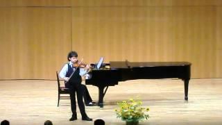 KOSMA主催こうべ音楽の街 Vn:宮本侑昴 モーツァルト:ヴァイオリン協奏曲 第5番 第1楽章
