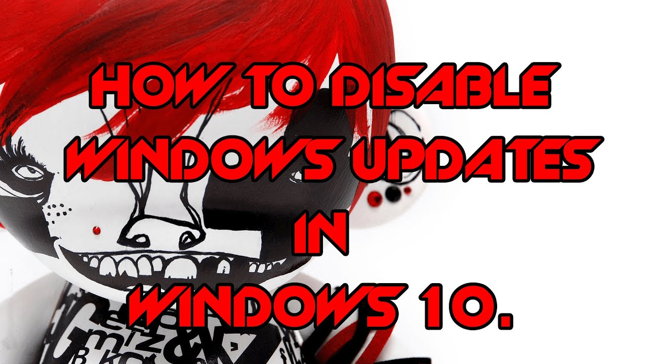 how to stop windows auto update
