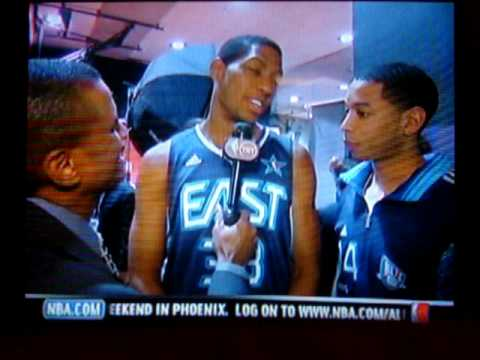Devin Harris and Danny Granger All-Star Interview