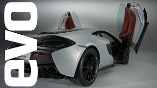 McLaren 570GT preview – latest edition to the McLaren Sport Series | evo UNWRAPPED