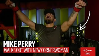 Mike Perry's Full Walk Out With His Girlfriend As His New Cornerwoman