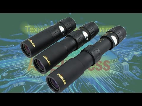 Monocular Nikula 10-30x25, review and comparison with binoculars BPC2