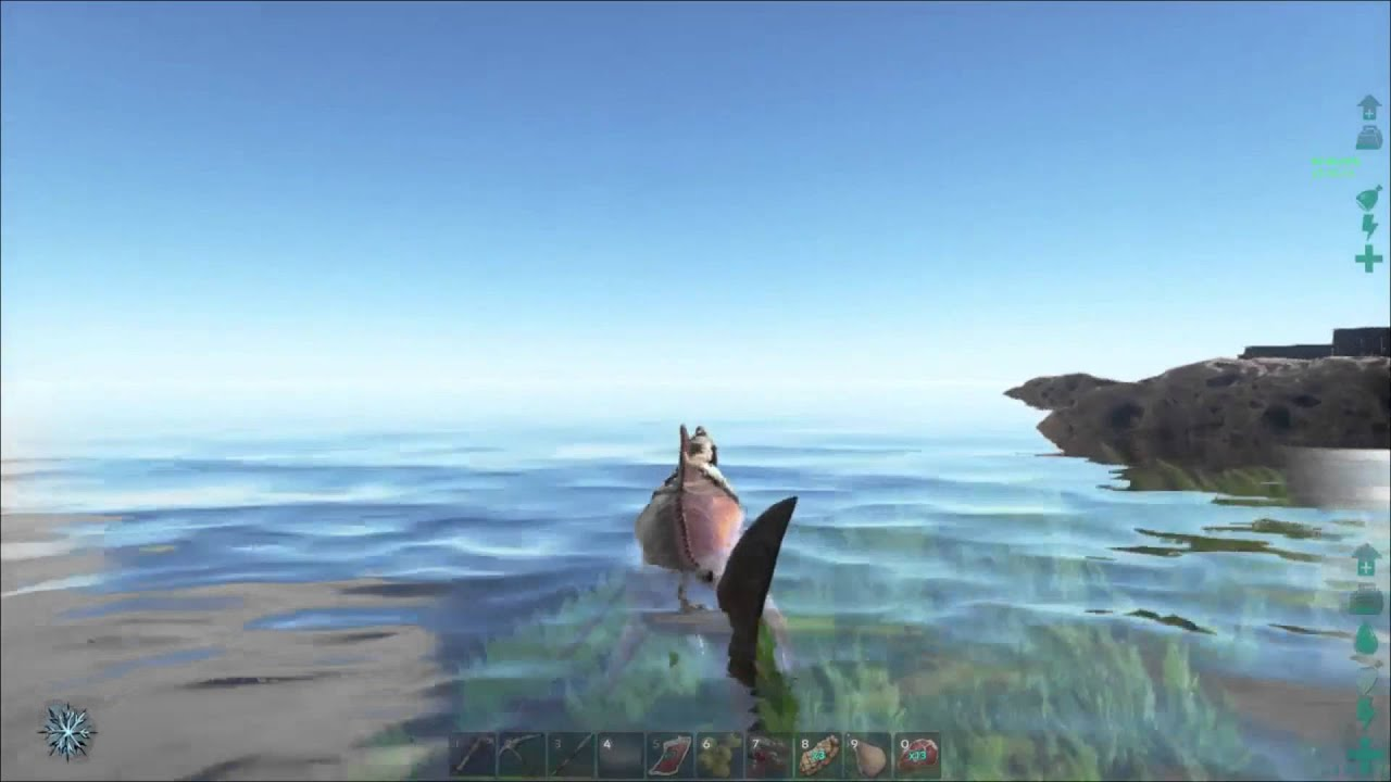 ARK: Survival Evolved - HOW TO FIND SOUTH EASTERN UNDERWATER CAVE by  Monkfoot