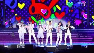B.A.P - Crash, 비에이피 - 대박사건, Music Core 20120929