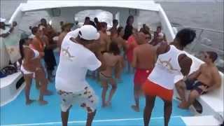 Merengue Punta Cana - Dominican Republic  ( Catamaran Capitan Gringo ) Fiesta Isla Saona