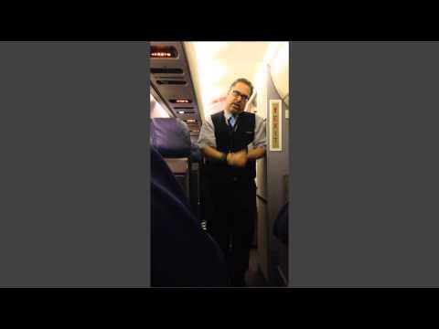 Flight Attendant Karaoke