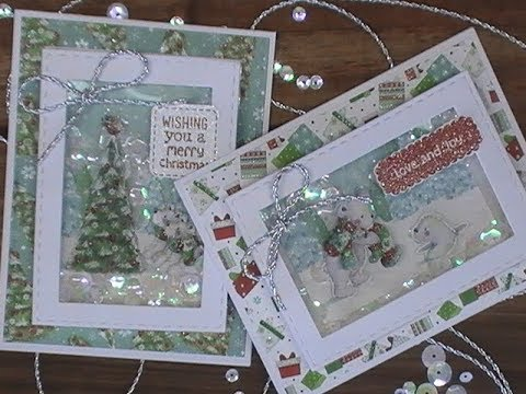 "3-D Christmas Cards / Love from Lizi / Special Edition ""Beary Christmas"" Kit / C&CT"