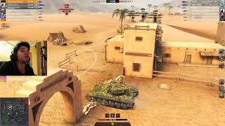 WoT Blitz - Уникальный бой в мире танков.Неожиданный ФИНАЛ- World of Tanks Blitz (WoTB)
