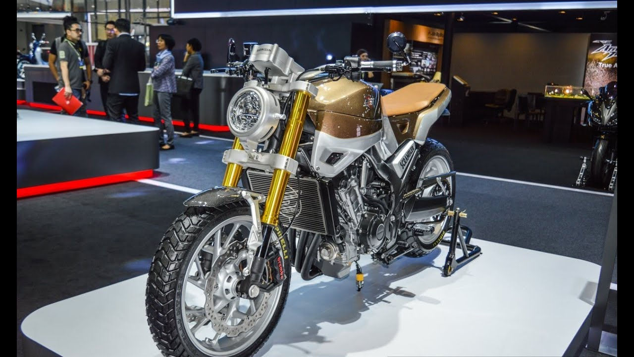 Honda CB650 Scrambler Concept At The 2016 Bangkok International Motor Show