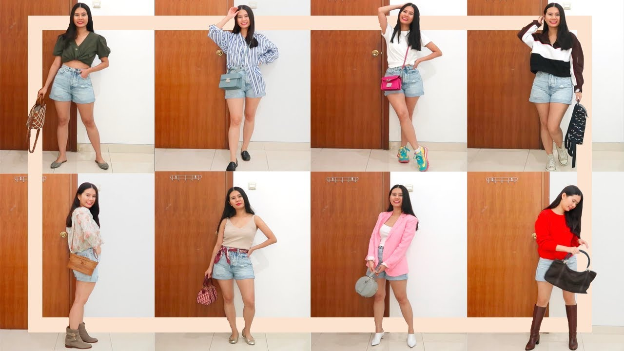 [VIDEO] - 1 JEAN SHORTS 8 WAYS | FASHION LOOBOOKS | #petite #style 1
