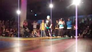 B-Supreme 2009: UK vs Europe Bgirl battle