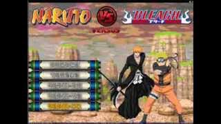 Repeat youtube video Naruto vs Bleach MUGEN 2014 Download