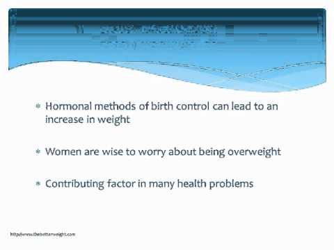 Birth Control Effects: Will You Gain Weight?