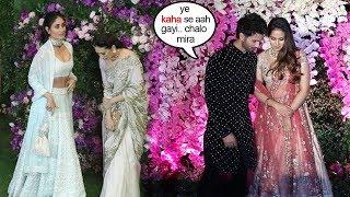Shahid Kapoor IGNORES Ex-Girlfriend Kareena Kapoor At Akash Ambani's WEDDING Reception in Mumbai