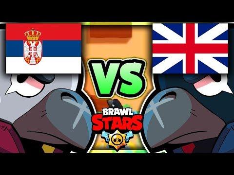 Brawl Stars Turnir u 5000 💰 Srbija vs Britanija | Qlash Invitational