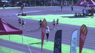 WA Little Athletics State Championships 2012   U12 Girls 100m