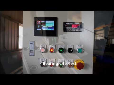 Bearing Life Test-Hsian Ji Bearing Co., Ltd.