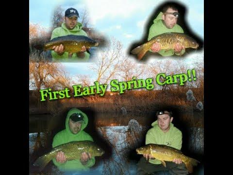 Spring Series #Vlog 1, First Early Spring Carp