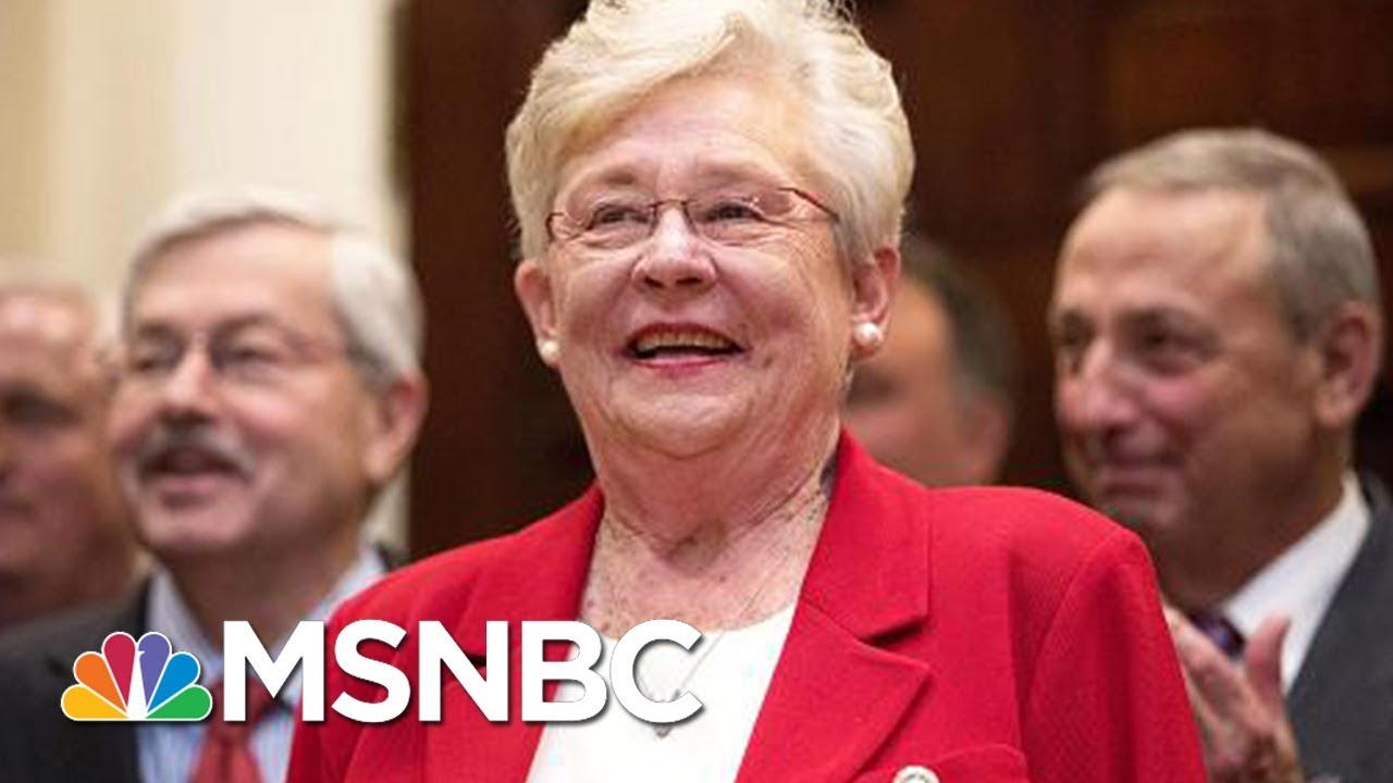 Alabama Governor Kay Ivey Says She Will Vote For Senate Candidate Roy Moore | MSNBC