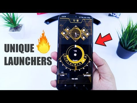 5 Super Unique And Powerful Android LAUNCHERS You Must TRY - 2019