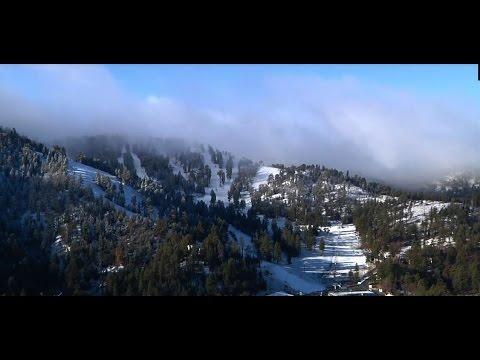 Mountain High First Snow Of The Season!