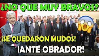 GOBERNADORES LE SACAN ¡AMLO SE PUSO DURO CON ELLOS!