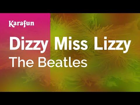 Karaoke Dizzy Miss Lizzy - The Beatles *