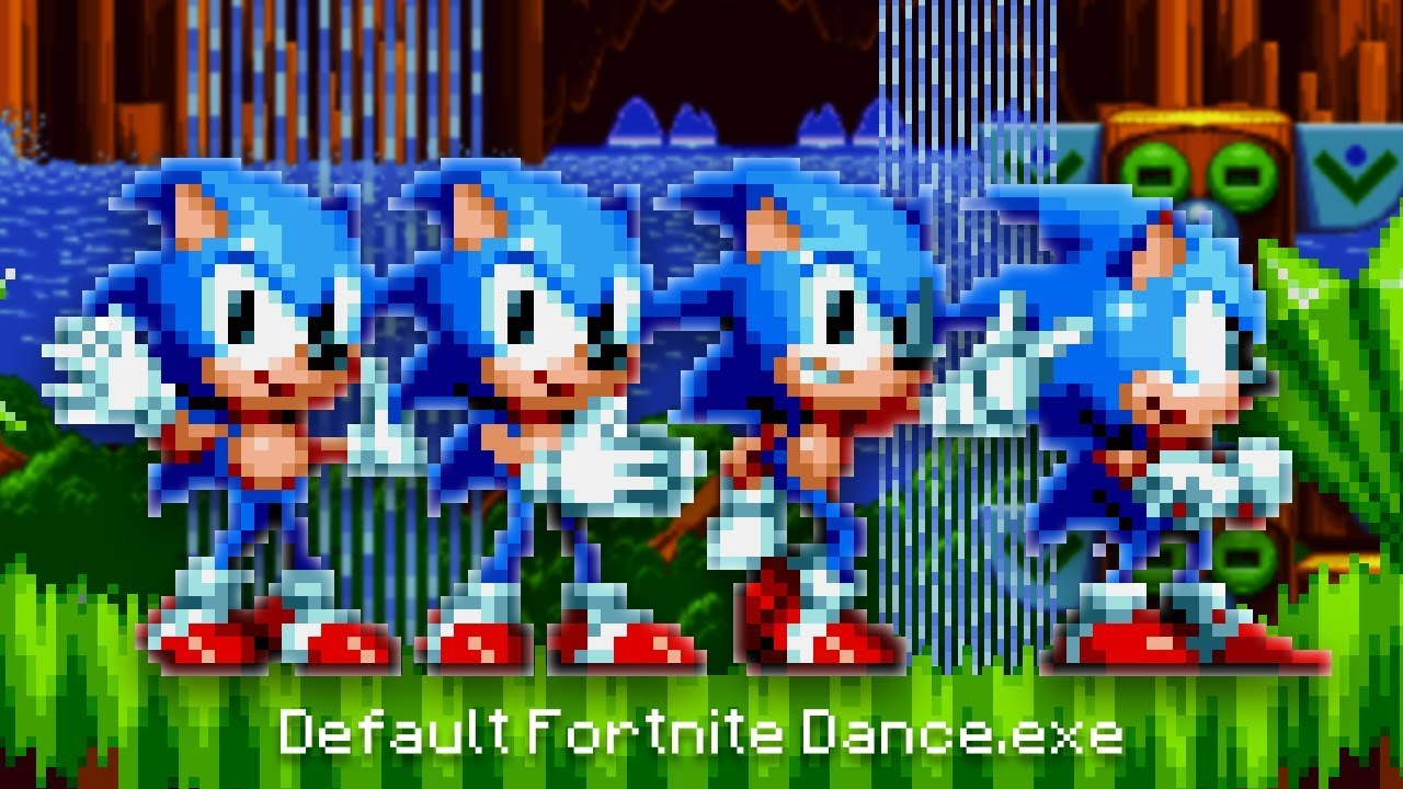 Gmod Fortnite Default Default Dance Victory Animation Sonic Mania Mods